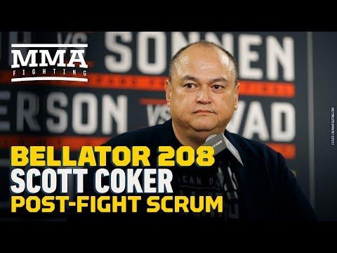 Bellator 208: Scott Coker Post-Fight Press Conference - MMA Fighting