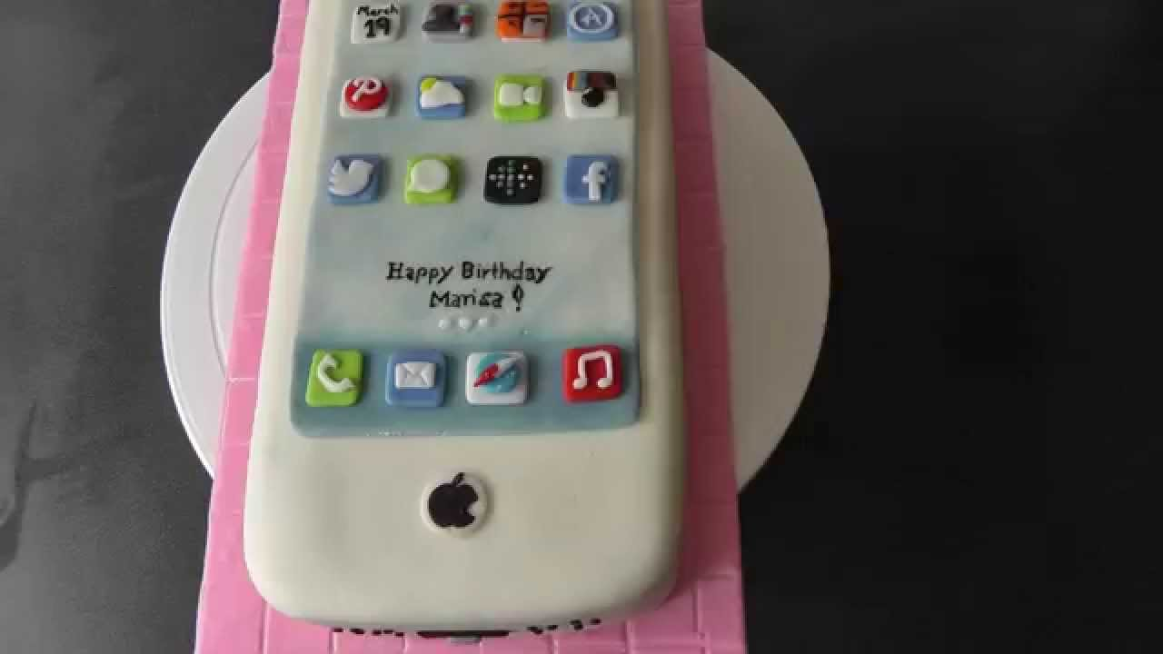 Iphone Cake YouTube