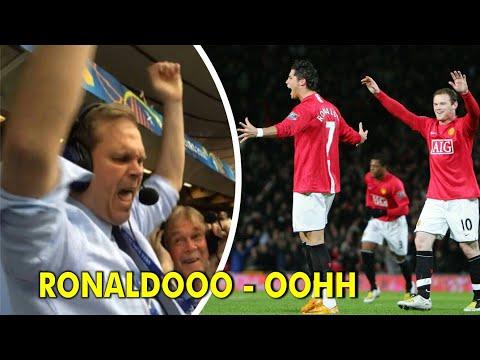 Heboh!! Inilah Reaksi & Teriakan Comentator Bola Saat Ronaldo Cetak Gol