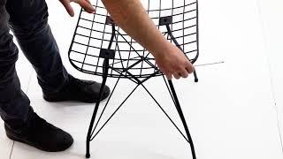 Evform Tel Sandalye Kurulum Videosu