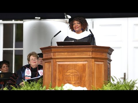 Rita Dove Addresses UVA