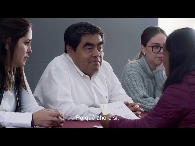 Primer Informe de Gobierno de Luis Miguel Barbosa