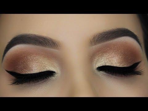 Soft Everday Nude Eye Makeup Tutorial thumbnail