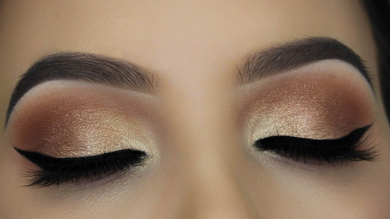 Nude Look Soft Everday Nude Eye Makeup Tutorial - Youtube