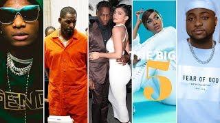 The Big5: Davido apewa shavu na Chris Brown, R Kelly aendelea kusota rumande, Wizkid ajikongoja