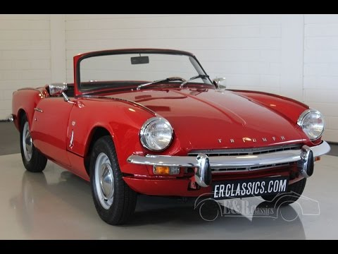 triumph spitfire mk3 1968 signal red in very good condition video youtube. Black Bedroom Furniture Sets. Home Design Ideas