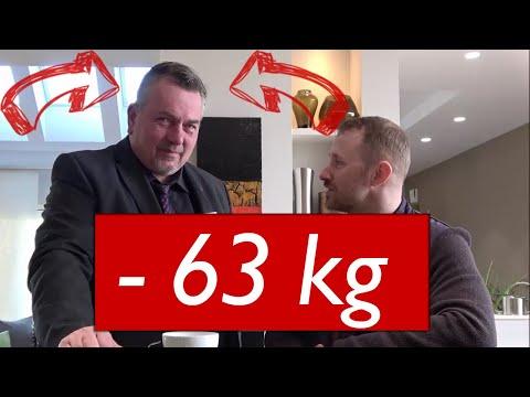 Gesund abnehmen - 63 kg in 12 Monaten ist möglich