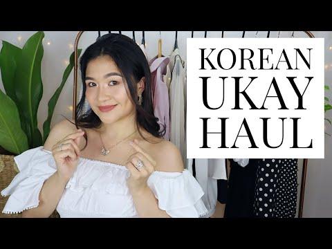 KOREAN UKAY HAUL  MADE IN KOREA  Charlotte F🍒