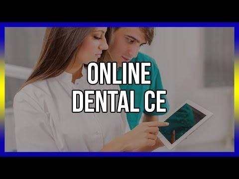 Online Dental CE - Free Courses Below