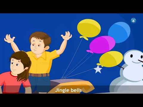 Dashing Through The Snow Rhyme | Nurser Rhyme For Kids | Little Baby Rhymes