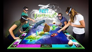Fact or Fantasy? World's First Mixed Reality Multiplayer Game