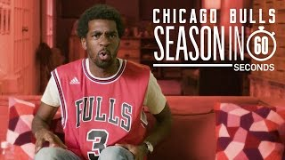 chicago bulls fans   season in 60 seconds