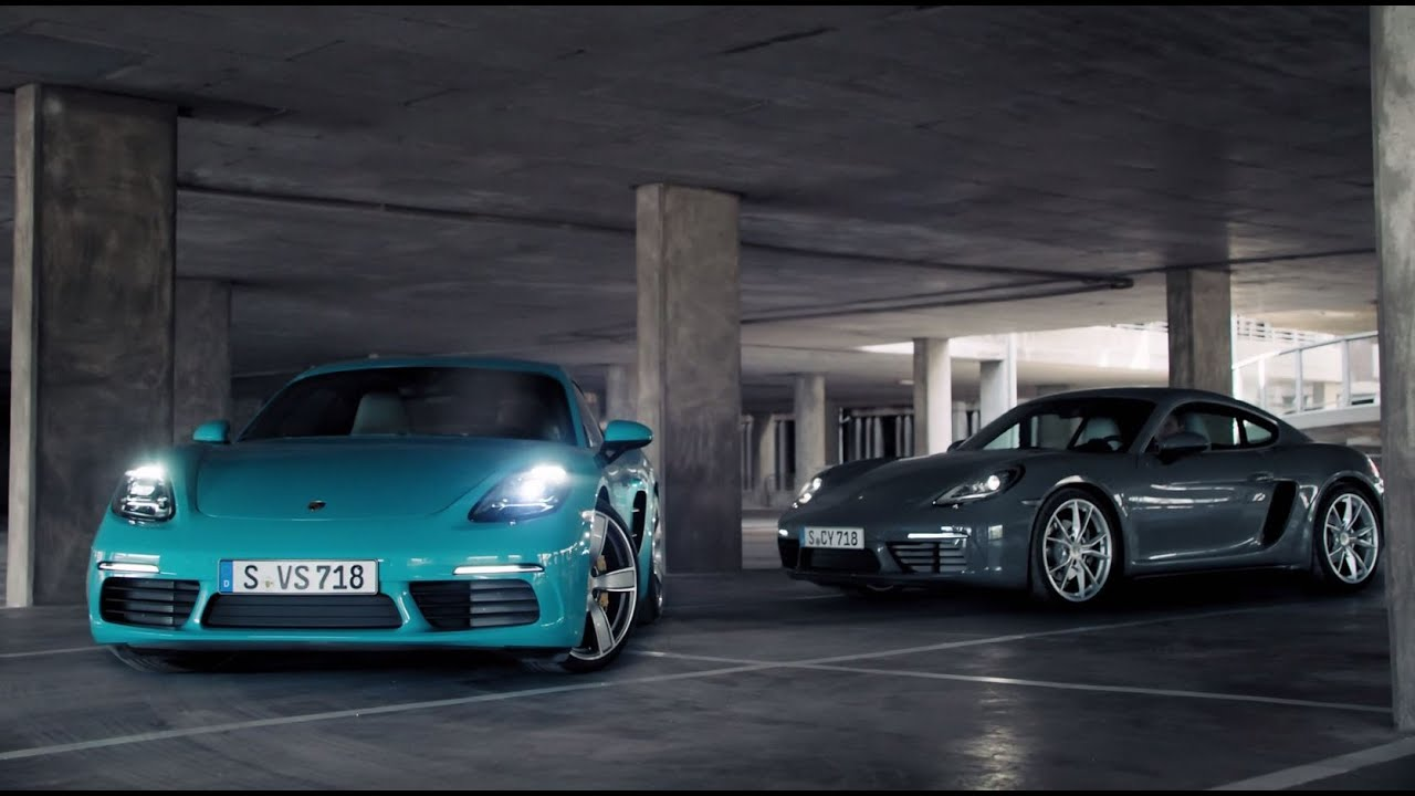 The new Porsche 718 Cayman – For the sport of it - YouTube