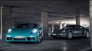 The new Porsche 718 Cayman – For the sport of it