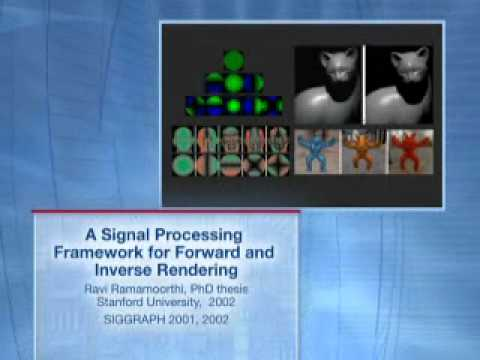ACM SIGGRAPH Significant New Researcher 2007 Award Video for Ravi Ramamoorthi
