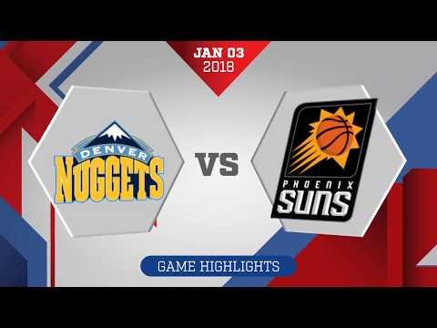 Phoenix Suns vs. Denver Nuggets - January 3, 2018