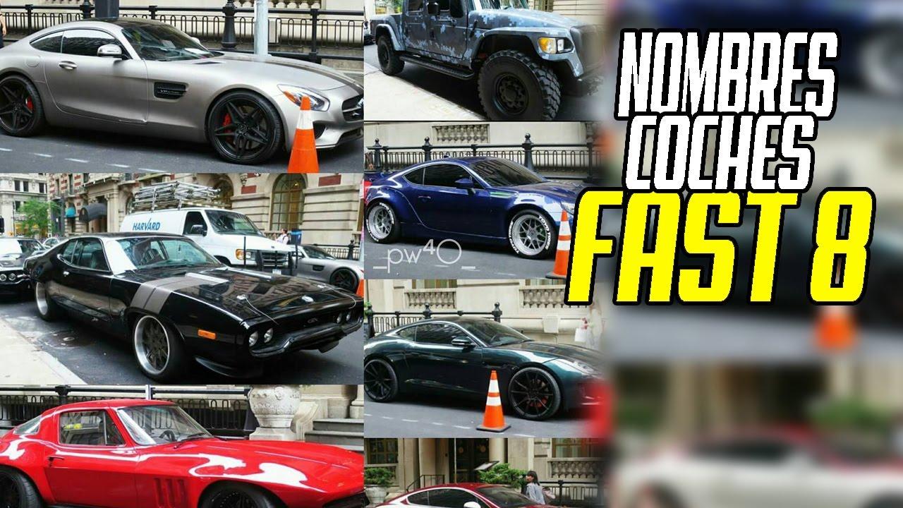 Nombres Autos Pelicula Rapidos Y Furiosos 8 Fast And Furious 8