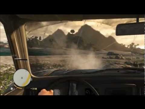 Far Cry 3 Funny Moments 1 - DRIVING FAIL |