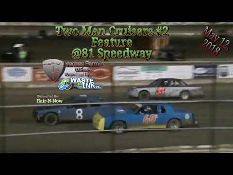 Two Man Cruisers #2, Feature, 81 Speedway, 2018