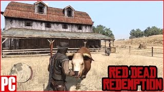 Messing with the Bull in Red Dead Redemption - PC/PS NOW Gameplay