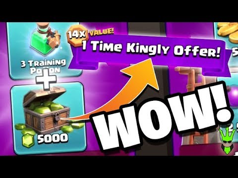 THIS OFFER IS INSANE!! 5000 GEMS NEARLY FREE! - How To Clash Ep.10 -