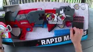Review: BOOMco Rapid Madness blaster by Mattel
