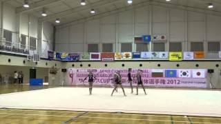 Выступление гимнасток г. Семей в Японии