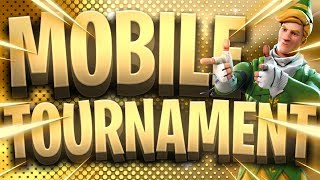 Fortnite Mobile Custom Scrims Tournament // New Neochasers Skins // Fortnite Mobile Live