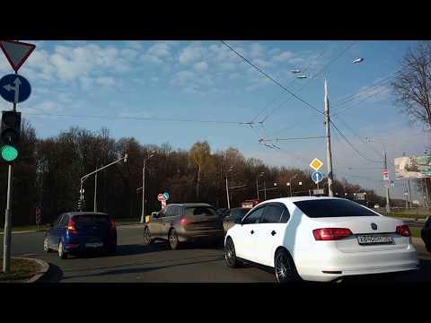 . Москва-Улица Сталеваров. Поездка на автомобиле по городу