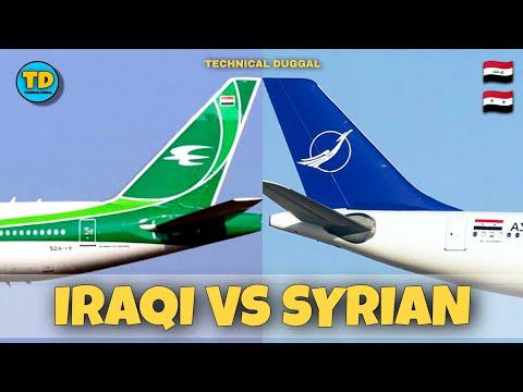 Iraqi Airways VS Syrian Air Comparison 2020!