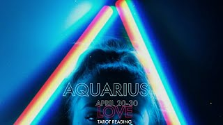 AQUARIUS: Intense chase and honeymoon phase! love is in the air!💖 APRIL 20-30