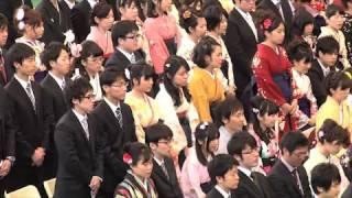平成25年度 卒業式(1)