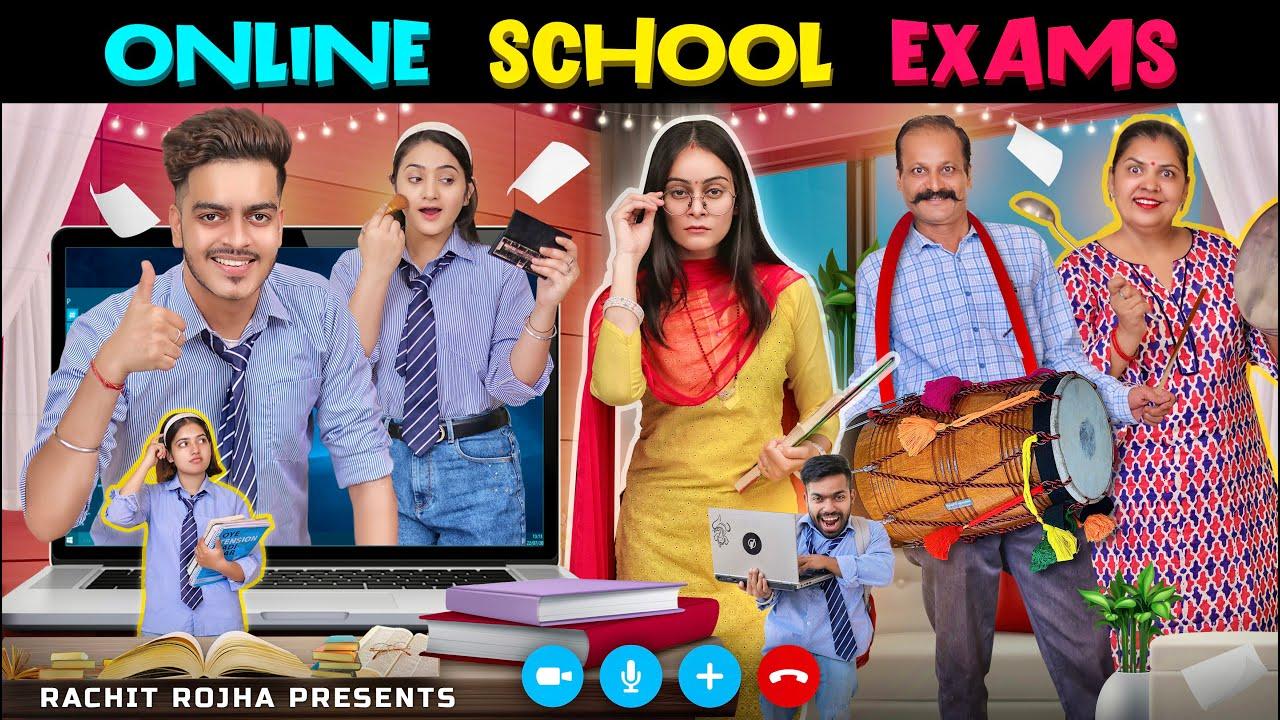 ONLINE SCHOOL EXAMS || Rachit Rojha