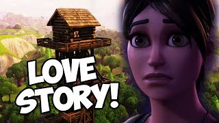 VERY EMOTIONAL LONELY LODGE LOVE STORY ***VALENTINES DAY*** (Fortnite Battle Royale)