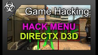 Game Hacking: D3D DirectX/OpenGL Menu Logic (Buttons, Switches, Features) CS:GO Tutorial