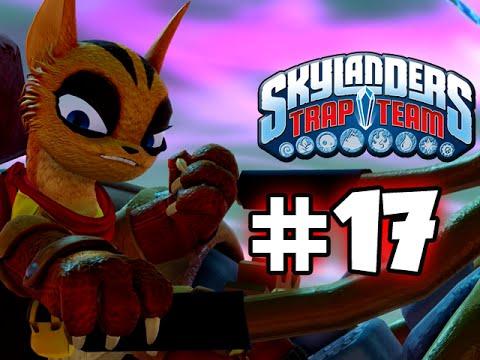 Skylanders trap team gameplay walkthrough part 17 helping