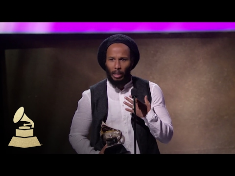 Ziggy Marley Wins for Best Reggae Album | Acceptance Speech | 59th GRAMMYs