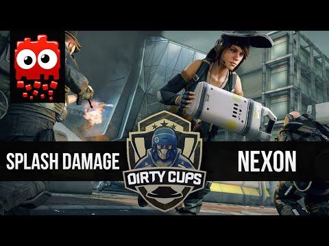 NEXON vs SPLASH DAMAGE - Dirty Bomb Showmatch /w Pansy [DirtyCups.gg]