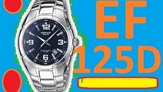 Обзор часов Casio Edifice EF-125D-2AVEF | Official World Watches(Обзор часов Casio Edifice EF-125D-2AVEF | Official World Watches Обзор и настройка часов Casio Edifice EF-125D-2AVEF | Review the watches Casio ..., 2015-11-07T14:25:42.000Z)