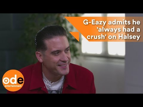 G-Eazy admits he 'always had a crush' on Halsey