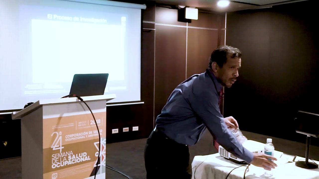 El experto Víctor Angulo y su ponencia en la 24 Semana de la Salud Ocupacional