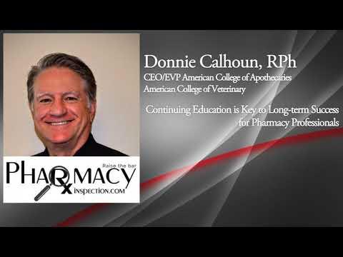 Pharmacy Inspection Podcast – Donnie Calhoun - PPN Episode 577