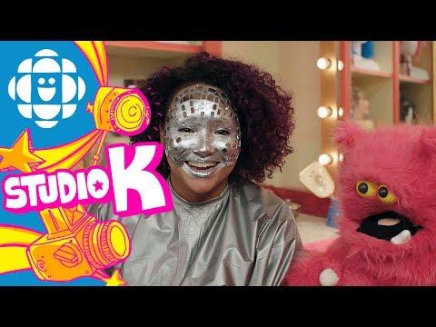 Makeup Monster Moment: Disco Ball | CBC Kids