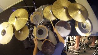 Meshuggah - Do Not Look Down Drum Cover by Troy Wright
