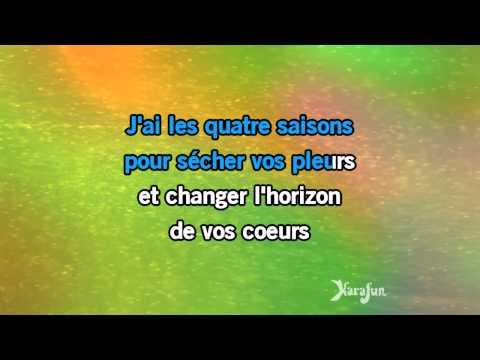 Karaoké Le marchand de bonheur - Alain Morisod *