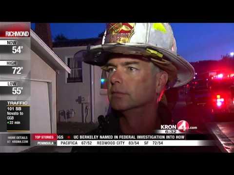 Fire Damages Empty San Leandro Home