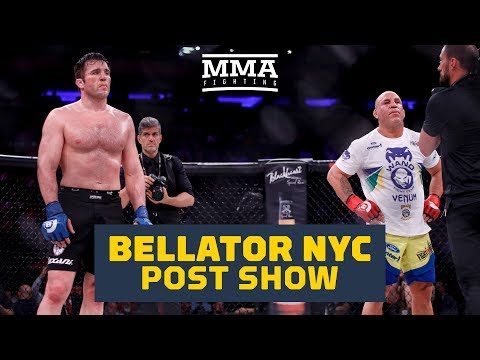 Bellator NYC Post-FIght Show - MMA Fighting
