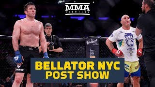 Bellator NYC Post-FIght Show - MMA Fighting thumbnail