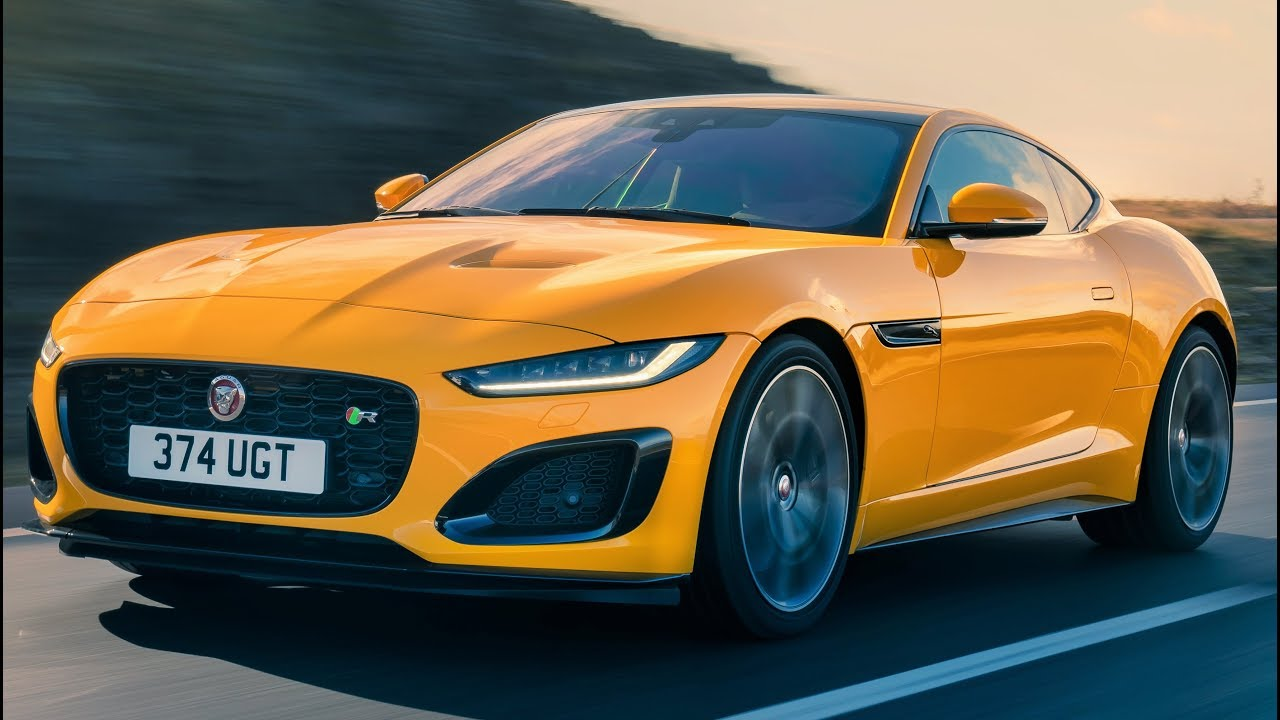 2020 Jaguar F Type R Coupe Luxurious And Expressive Sports Car Youtube