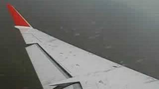 Take off from Buenos Aires (Aeroparque) on Pluna CRJ-900